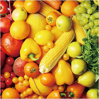 野菜や果物をあまり食べない…